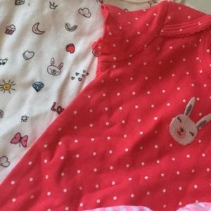 Baby girls carters 3 months lot NEW